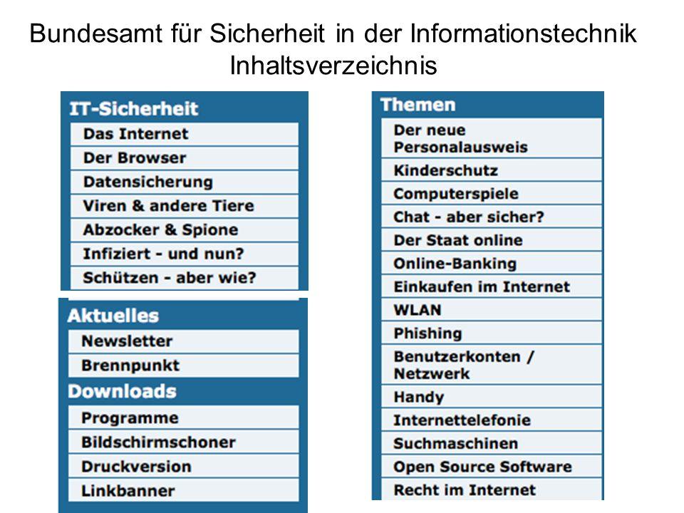 Institut für Internet Sicherheit http://www.internet-sicherheit.de/ Nächste Folie