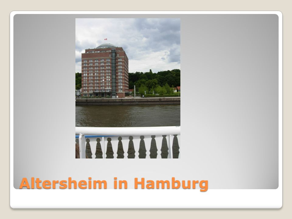Altersheim in Hamburg