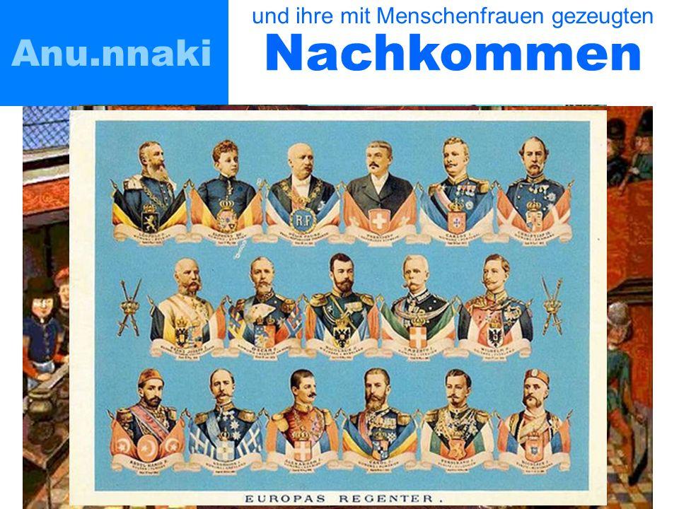 Anu.nnaki und ihre mit Menschenfrauen gezeugten Nachkommen