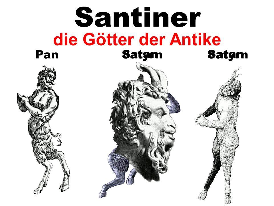 PanSatyrn Satan Satyrn Satan die Götter der Antike Santiner