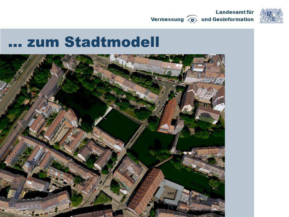 Landesamt für Vermessung und Geoinformation … zum Stadtmodell