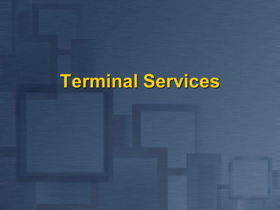 Terminal Services