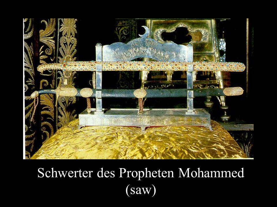 Schwerter des Propheten Mohammed (saw)