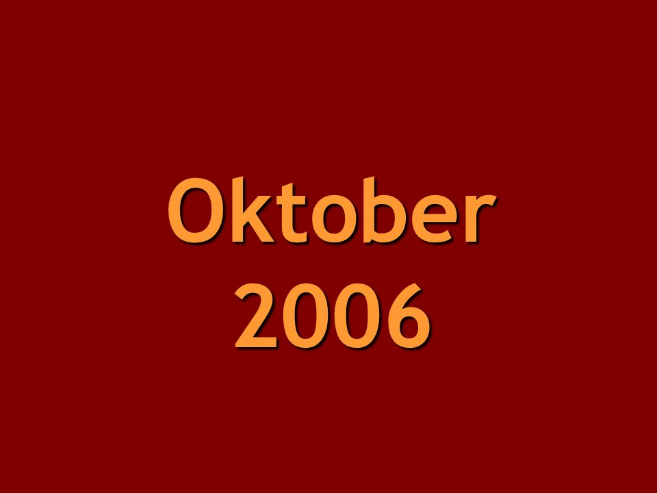 Oktober 2006
