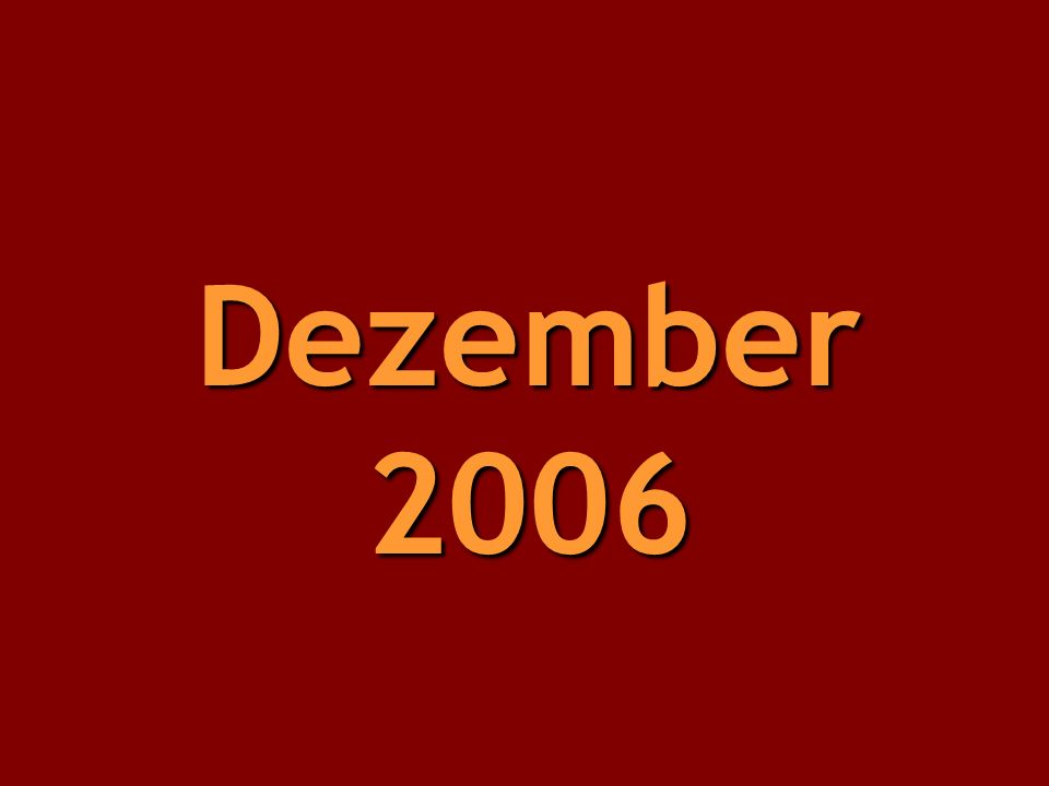 Dezember 2006