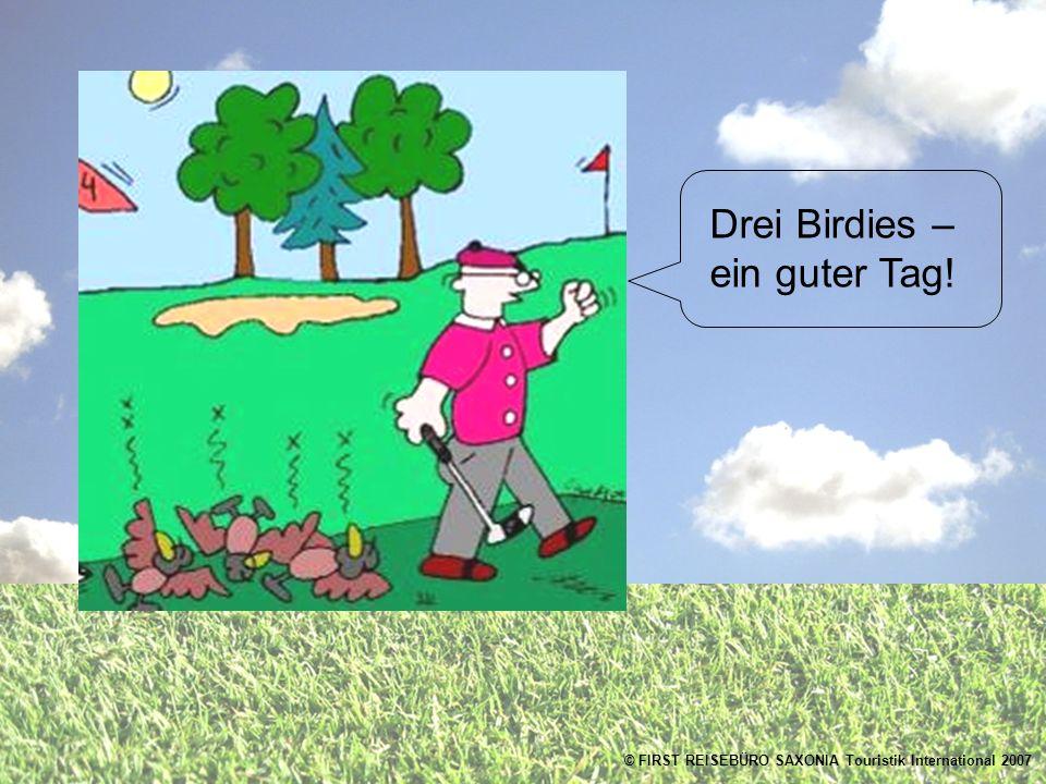 Drei Birdies – ein guter Tag!