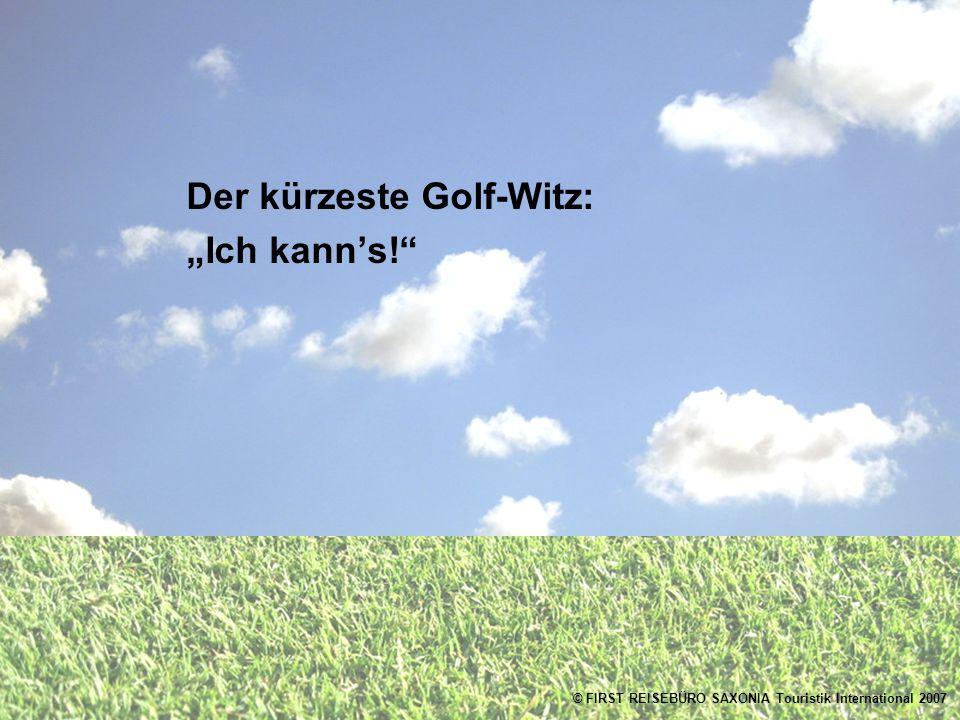Der kürzeste Golf-Witz: Ich kanns!