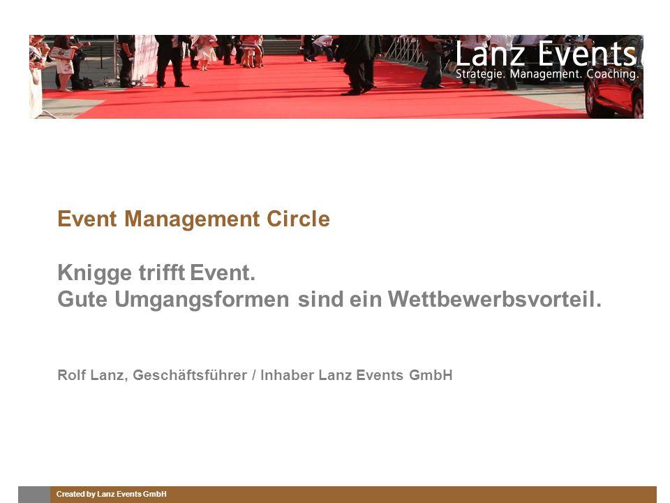 Created by Lanz Events GmbH Kurzvorstellung.