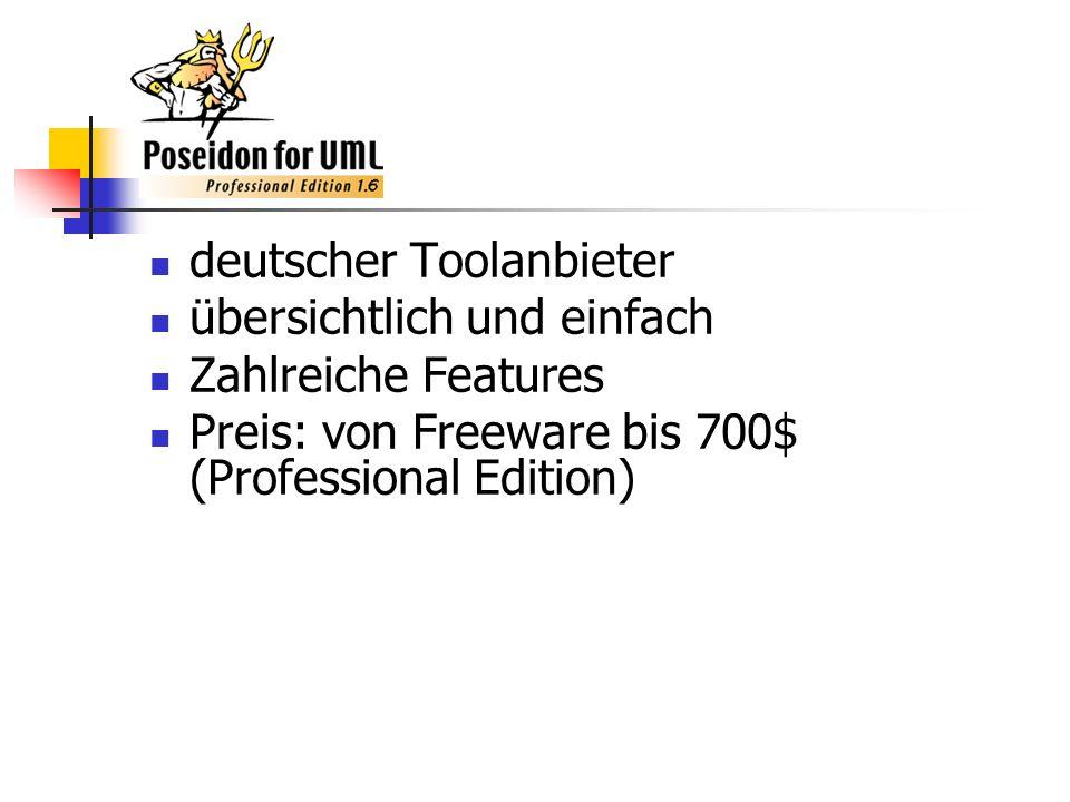 deutscher Toolanbieter übersichtlich und einfach Zahlreiche Features Preis: von Freeware bis 700$ (Professional Edition)