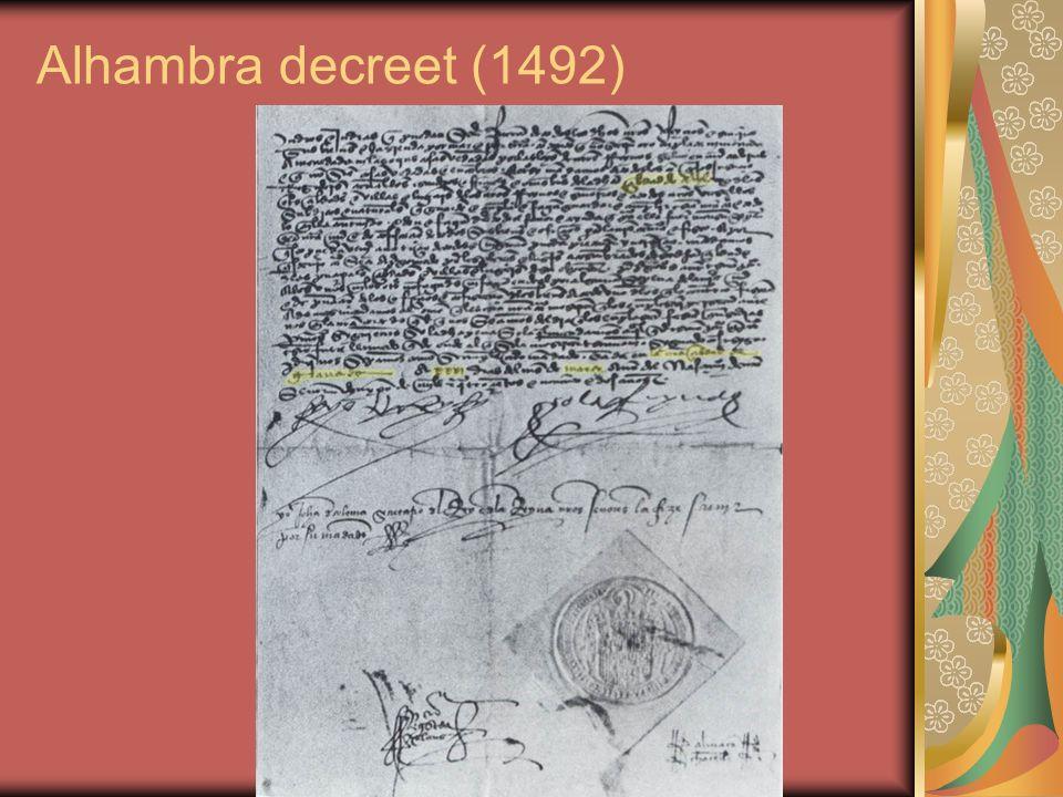 Alhambra decreet (1492)
