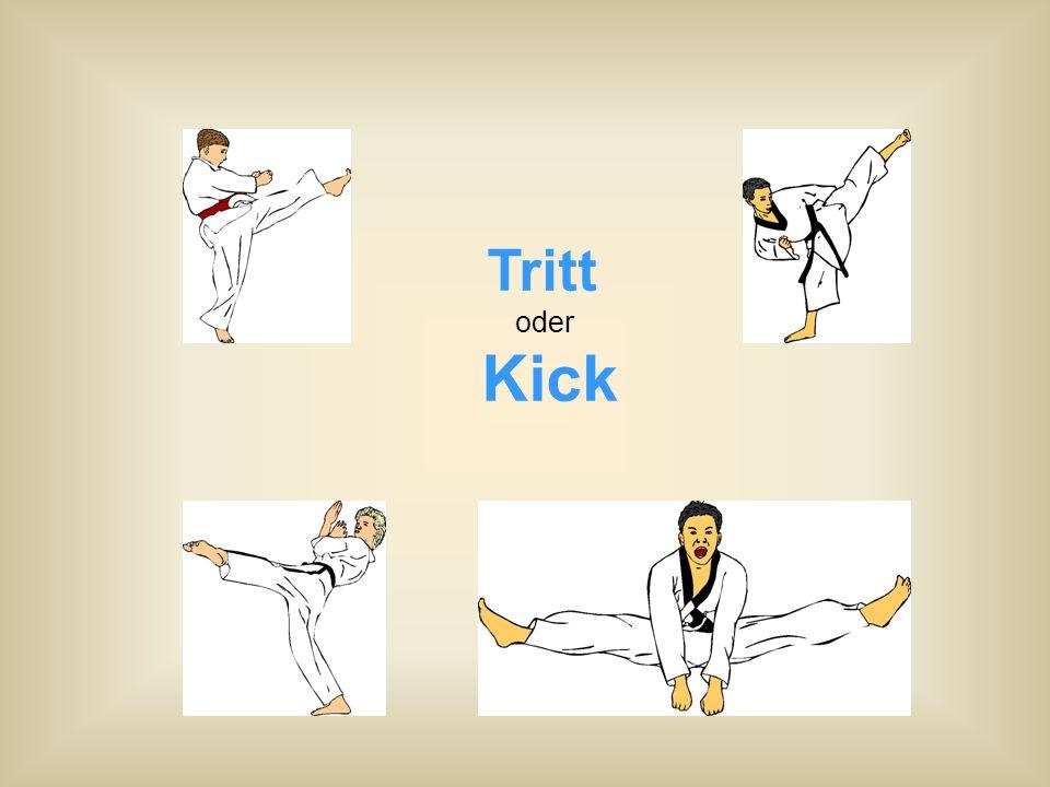 Tritt oder Kick