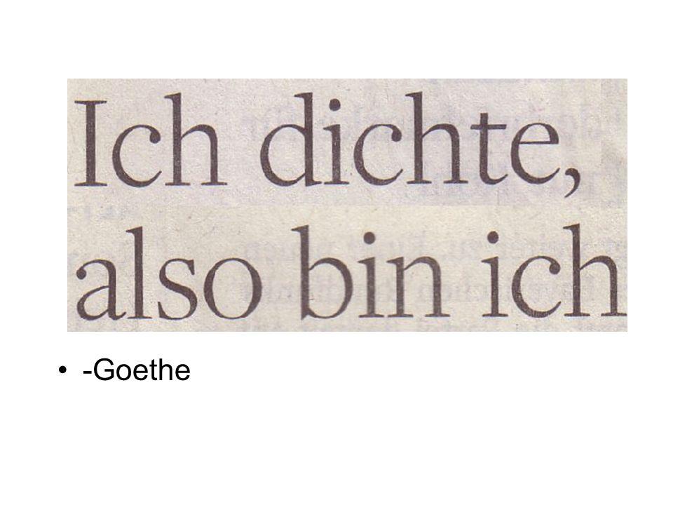 -Goethe