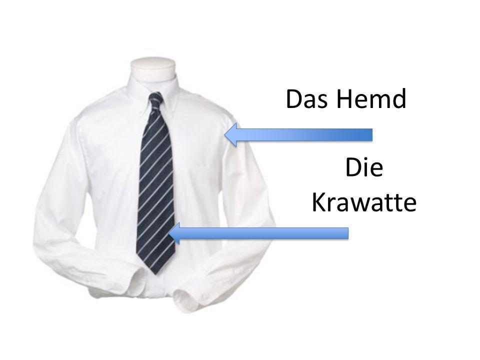Das Hemd Die Krawatte