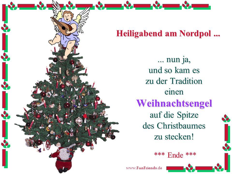 www.FunFriends.de Heiligabend am Nordpol......