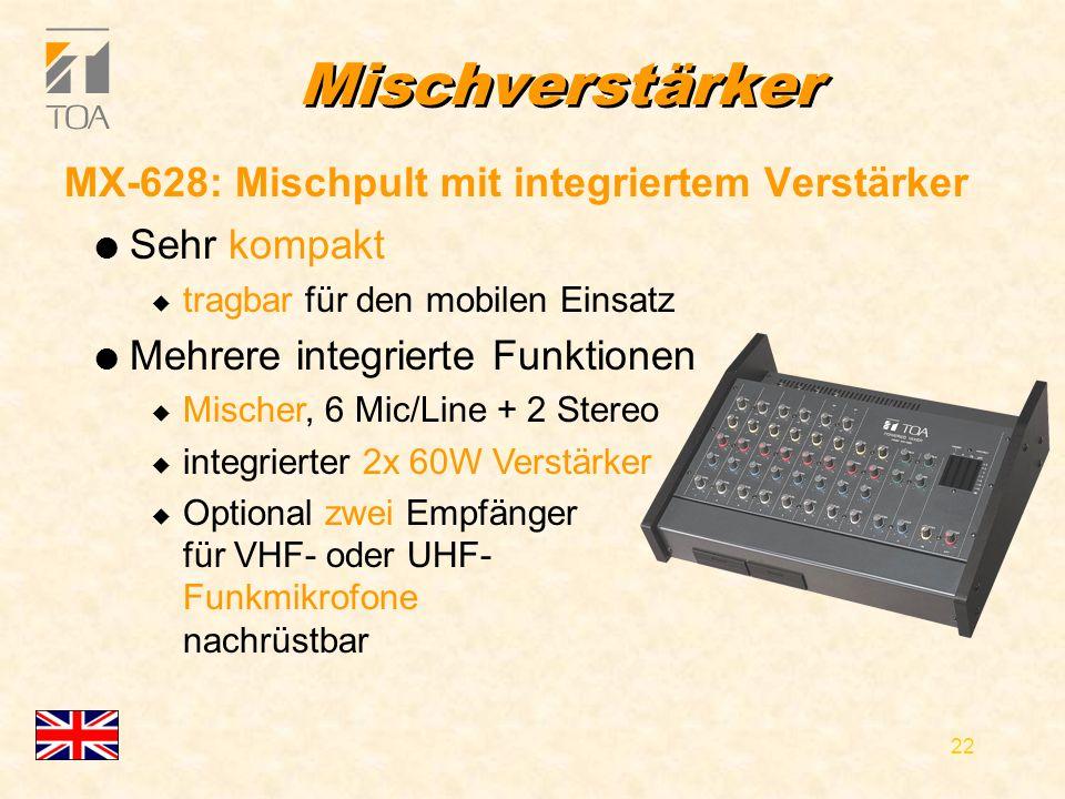 bcbc 21 Kofferverstärker WA-1822, WA-1822C (mit Kassettenrekorder) WA-1822C l Tragbarer Verstärker mit integriertem 2-Wege Lautsprecher l Batterie- und Netzbetrieb l Mischer für 3 Mikrofone und externe Tonquelle l Optional zwei Empfänger für VHF- oder UHF- Funkmikrofone nachrüstbar l großer Stauraum hinten u für Mikrofone etc.