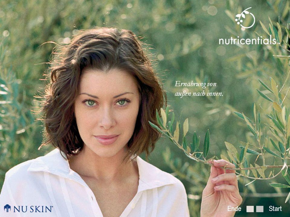 Nutrition from the Outside In Was macht die Haut schön?Tagespflegeprogramm mit Nutricentials Einführung in die Nutricentials Serie Zurück zum Anfang WEITER ZURÜCK Wie altert die Haut.