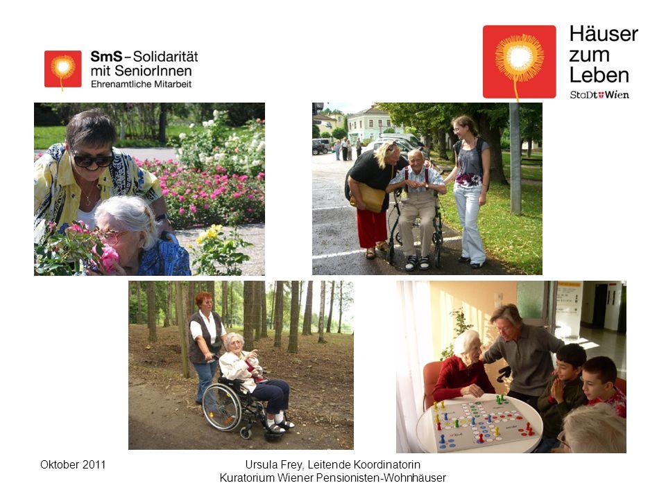 Ursula Frey, Leitende Koordinatorin Kuratorium Wiener Pensionisten-Wohnhäuser Oktober 2011