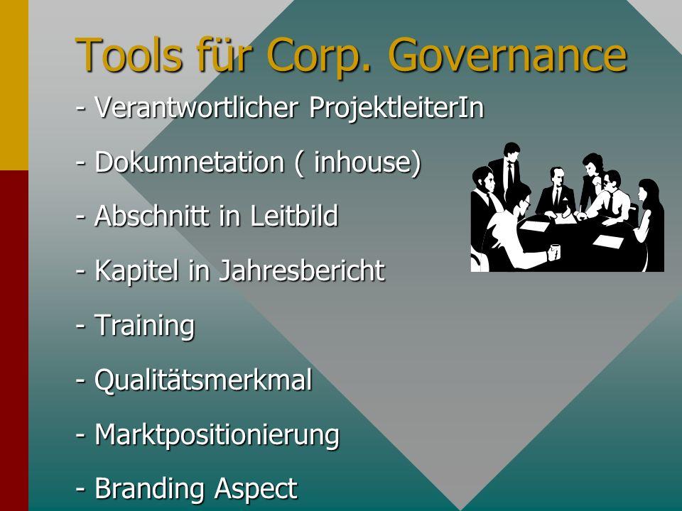 Tools für Corp.