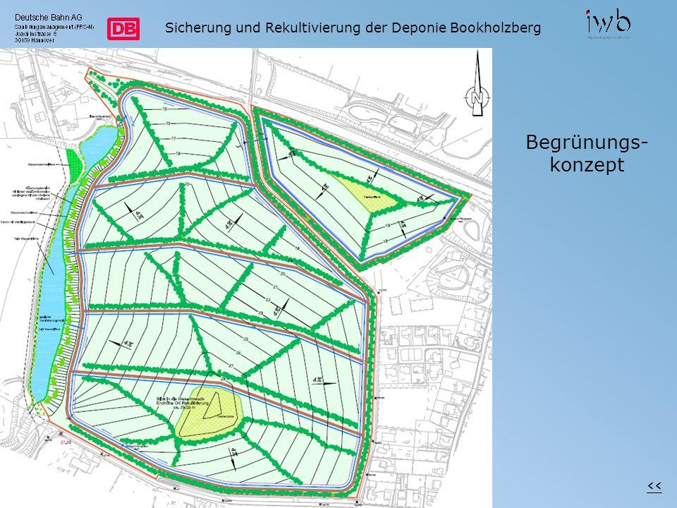 Sicherung und Rekultivierung der Deponie Bookholzberg Begrünungs- konzept