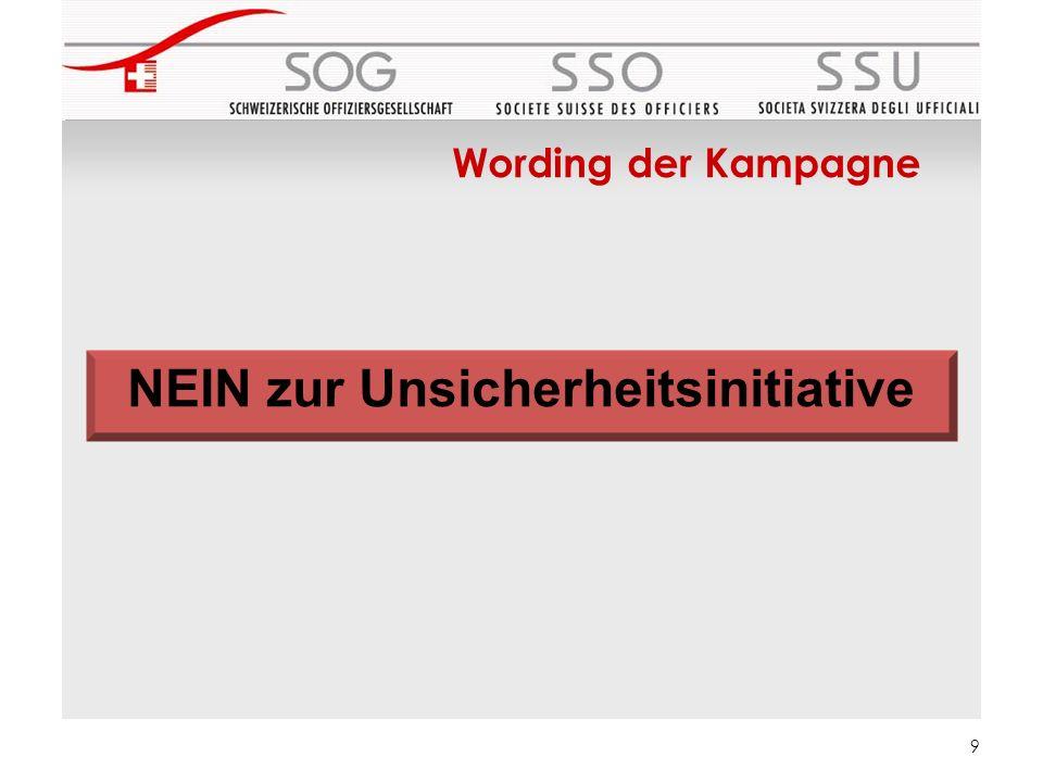 10 Kampagnenorganisation (02.2013) Kernteam DFI Kantonale Komitees Externe PR Agentur Externe Dienstleister Kom.