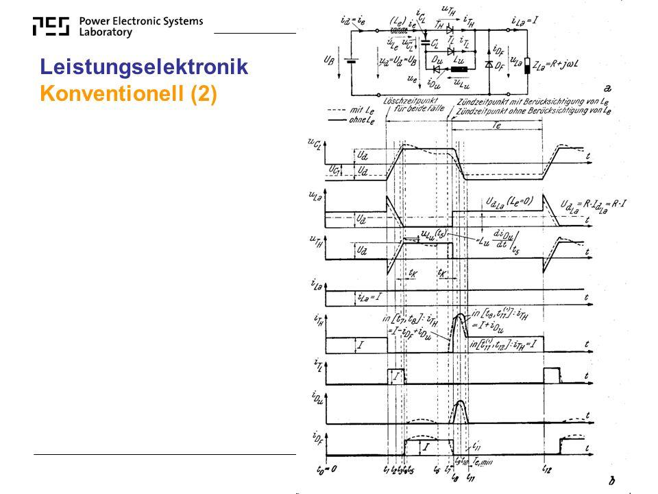 NET-ELC 2004 www.ipes.ethz.ch Leistungselektronik Konventionell (2)