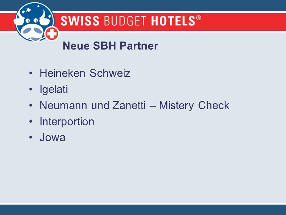 Neue SBH Partner Heineken Schweiz Igelati Neumann und Zanetti – Mistery Check Interportion Jowa