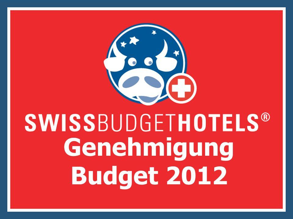 Genehmigung Budget 2012