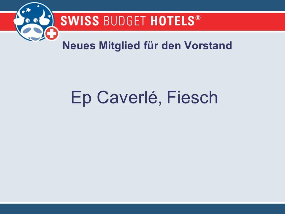 Neues Mitglied für den Vorstand Ep Caverlé, Fiesch