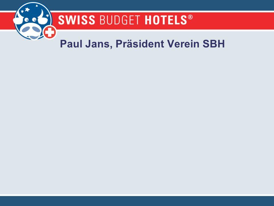 Paul Jans, Präsident Verein SBH