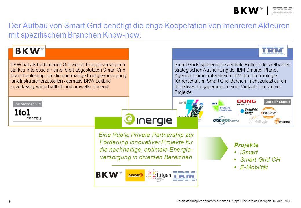 5 Smart Grids spielen eine zentrale Rolle in der weltweiten strategischen Ausrichtung der IBM Smarter Planet Agenda. Damit unterstreicht IBM ihre Tech