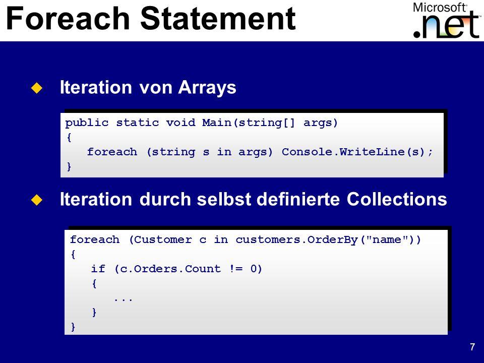 18 Parameterübergabe in Parameter: Entspricht einer Übergabe ByVal.