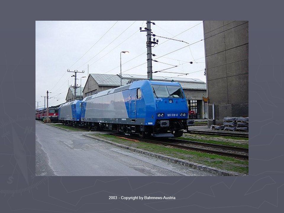 2003 - Copyright by Bahnnews-Austria Somit endete der Besuch der beiden 185-er in Österreich.