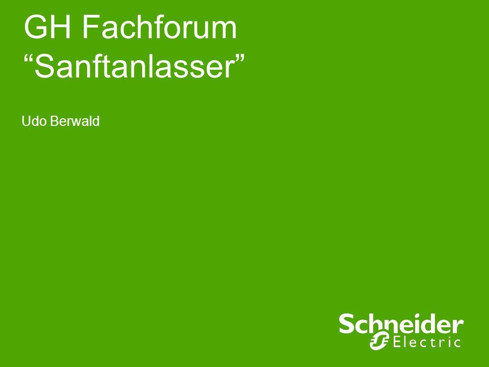 GH Fachforum Sanftanlasser Udo Berwald