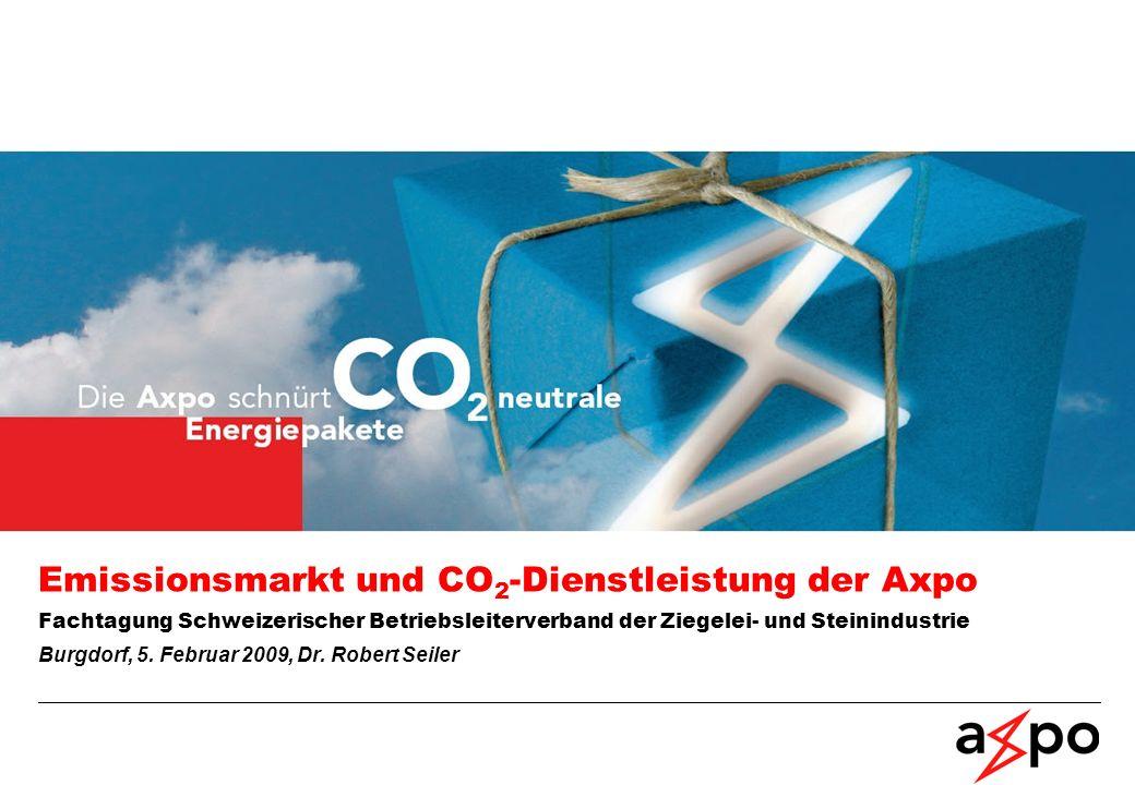 Emissionsfaktoren, Global Warming Potentials und Leitfaden Offizielle Umrechnungsfaktoren stammen von BAFU und UNFCCC Quellen: http://www.bafu.admin.ch/klima/00503/00504/index.html?lang=de http://unfccc.int/ghg_data/items/3825.php Axpo CO 2 -Aktivität 07.04.2014 / Seite 22