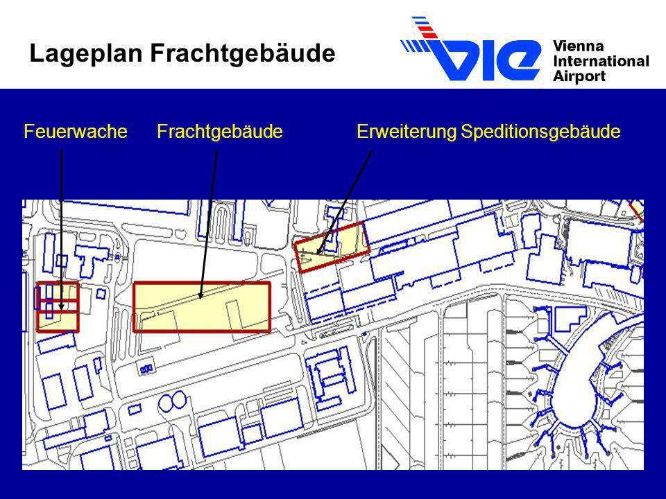 Lageplan Frachtgebäude FeuerwacheFrachtgebäudeErweiterung Speditionsgebäude