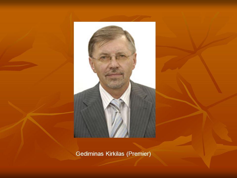 Gediminas Kirkilas (Premier)