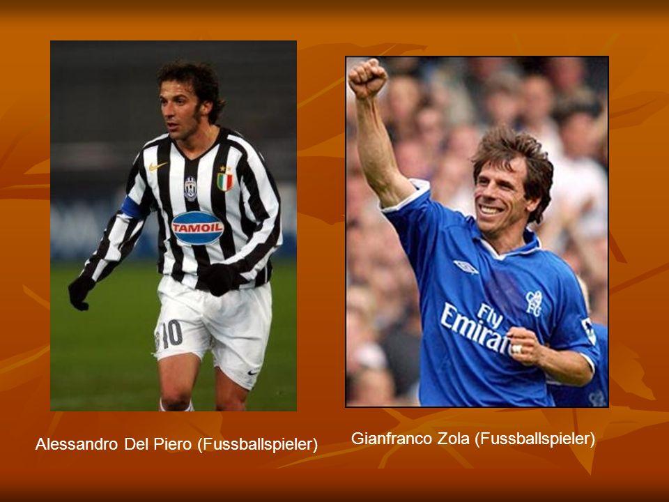 Alessandro Del Piero (Fussballspieler) Gianfranco Zola (Fussballspieler)