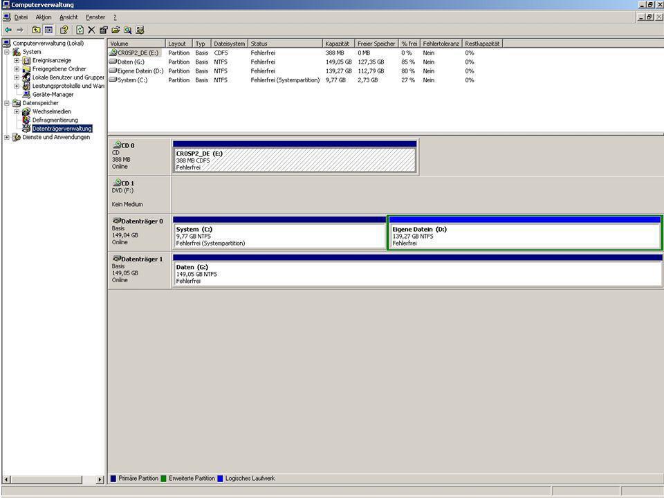 NTFS vs.