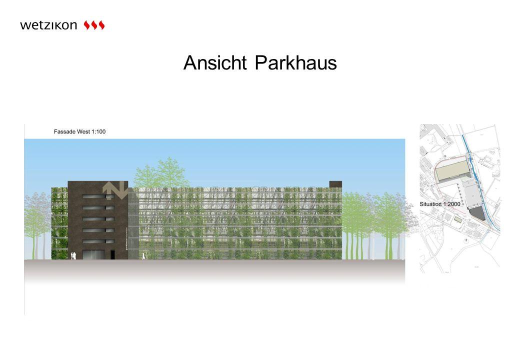 Ansicht Parkhaus