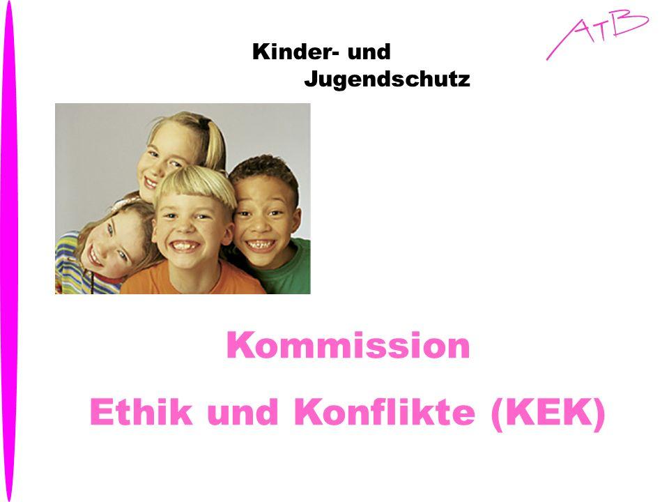 Kinder- und Jugendschutz Kommission Ethik und Konflikte (KEK)