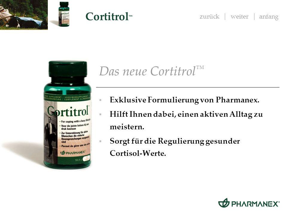 zurückweiteranfang Cortitrol Proven by science - Wissenschaftlich erwiesene Eigenschaften der Hauptinhaltsstoffe.