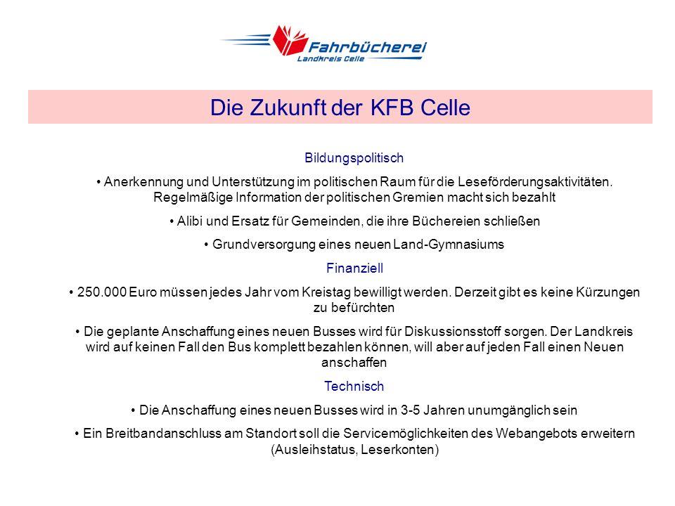 EDV-Einsatz in Fahrbibliotheken am Beispiel der KFB Celle Der Webkatalog