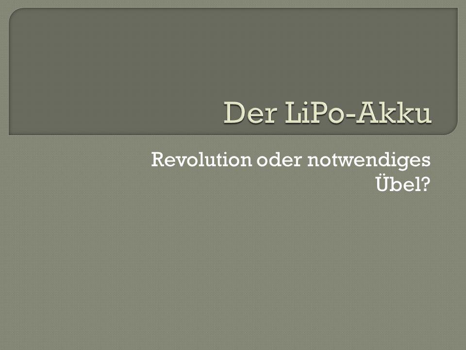 Revolution oder notwendiges Übel?