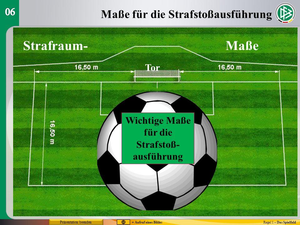 Regel 1 – Das Spielfeld 1.Der Platzverein ist verantwortlich für den Aufbau des Platzes.