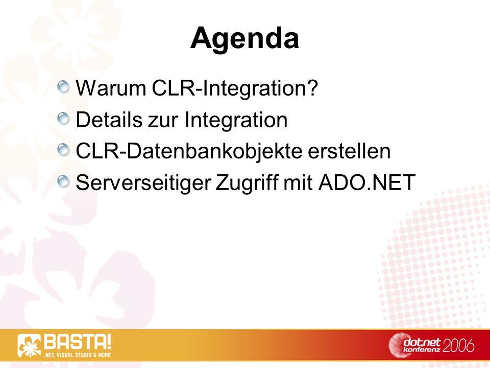 CLR-Integration