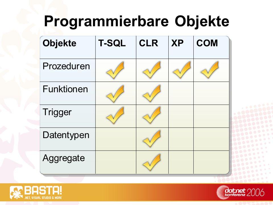 Demo CLR-Prozedur erstellen