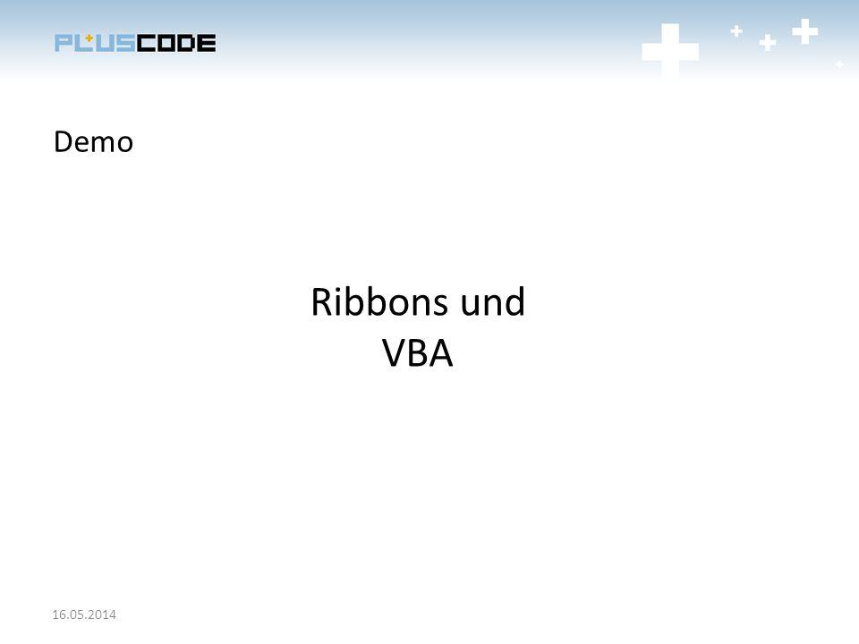 Demo Ribbons und VBA 16.05.2014