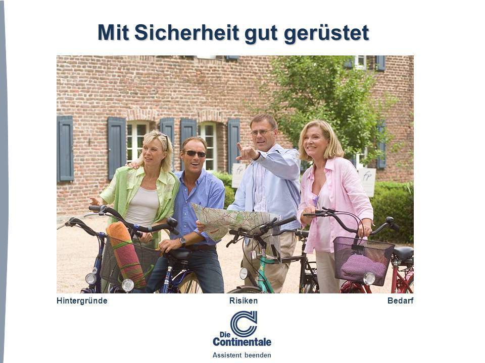 © Versicherungsverbund Die Continentale Fazit Auf die gesetzlichen Leistungen ist kein Verlass - diese werden zunehmend reduziert.