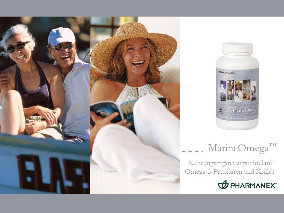 MarineOmega Nahrungsergänzungsmittel mit Omega-3-Fettsäuren und Krillöl