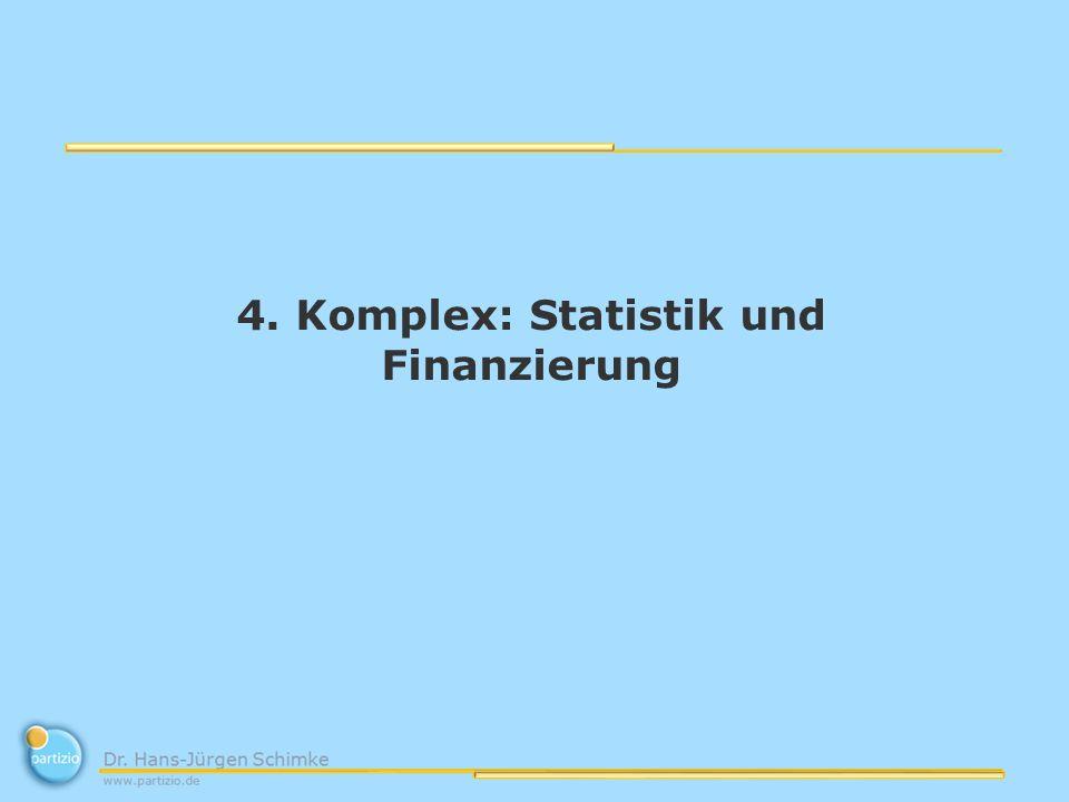 4. Komplex: Statistik und Finanzierung